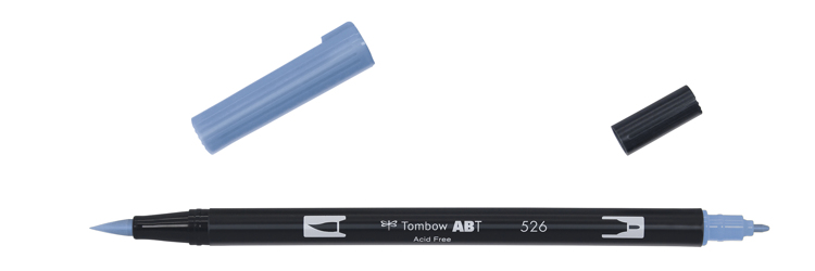 Tombow ABT Dual Brush Pen, True Blue