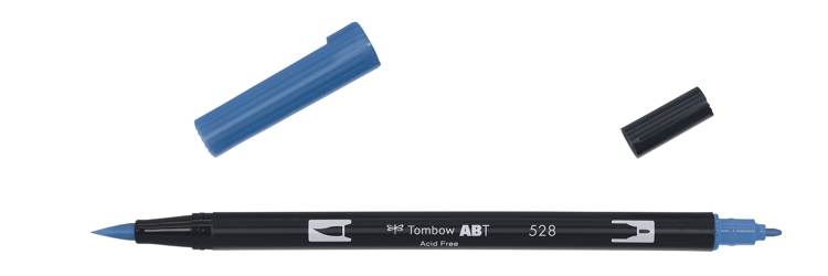 Tombow ABT Dual Brush Pen, Navy Blue