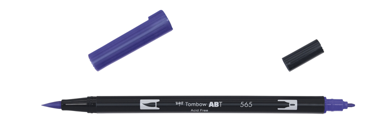 Tombow ABT Dual Brush Pen, Deep Blue