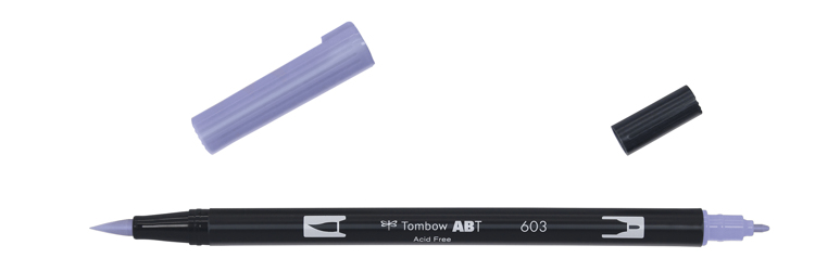 Tombow ABT Dual Brush Pen, Periwinkle