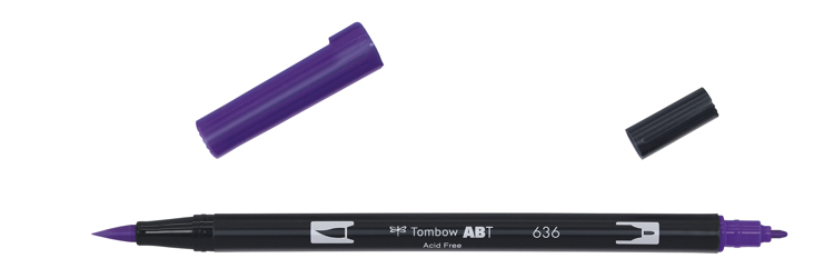Tombow ABT Dual Brush Pen, Imperial Purple