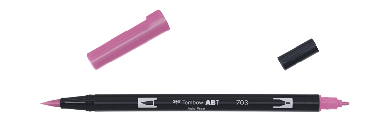 Tombow ABT Dual Brush Pen, Pink Rose