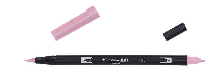 Tombow ABT Dual Brush Pen, Pink