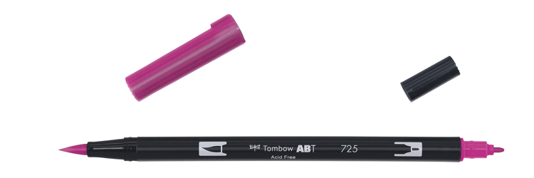 Tombow ABT Dual Brush Pen, Rhodamine Red