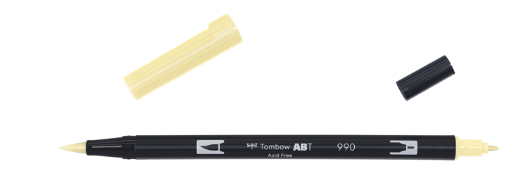 Tombow ABT Dual Brush Pen, Light Sand