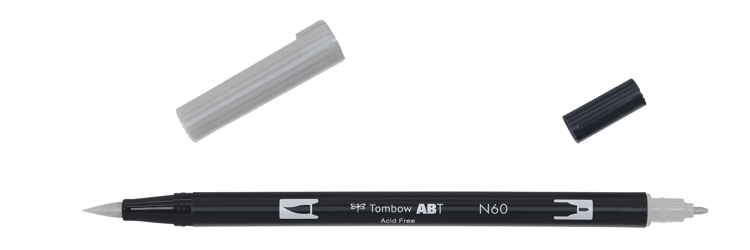 Tombow ABT Dual Brush Pen, Cool Grey 6