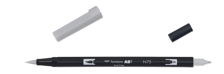 Tombow ABT Dual Brush Pen, Cool Grey 3