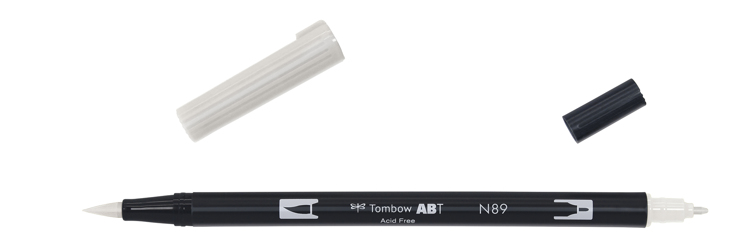Tombow ABT Dual Brush Pen, Warm Grey 1