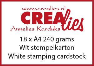 Stempelkarton, wit 240 grams (20x A4)
