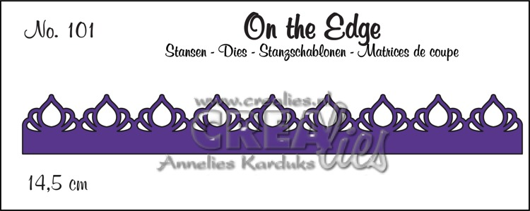 On the Edge stans no. 101, patroon A