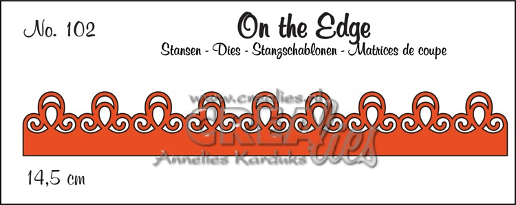 On the Edge stans no. 102, patroon B