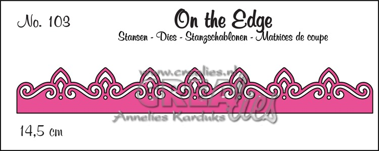 On the Edge stans no. 103, patroon C