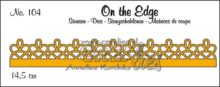 On the Edge stans no. 104, patroon D