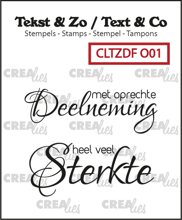 Text & Co Duo Font, Dutch stamps