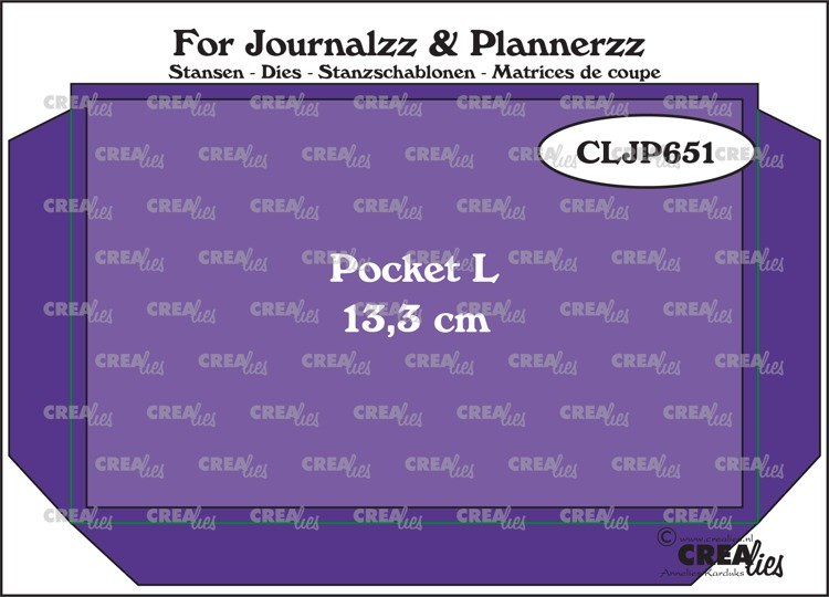 Stansen: Pocket Large (13,3 cm) + extra laag