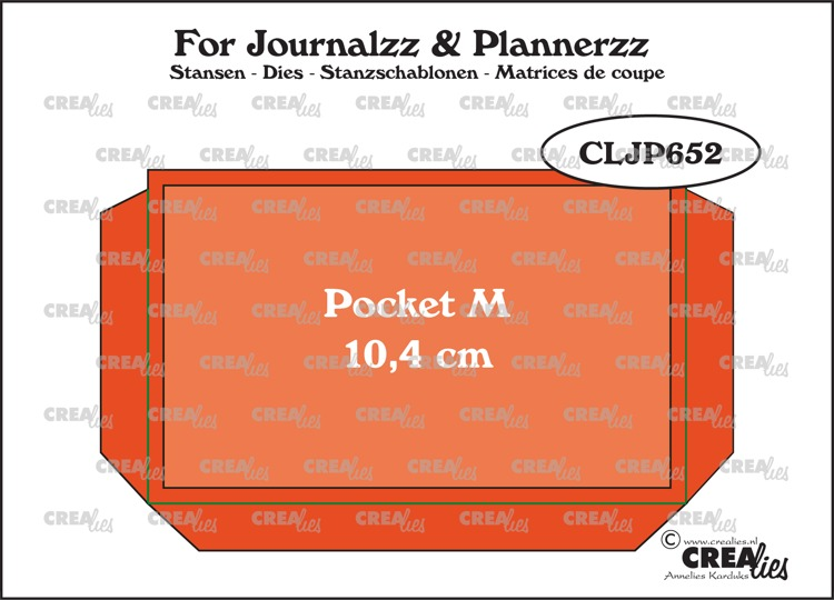 Stansen: Pocket Medium (10,4 cm) + extra laag