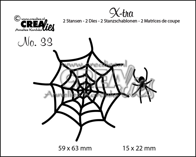 X-tra dies no. 33, Spider & Web