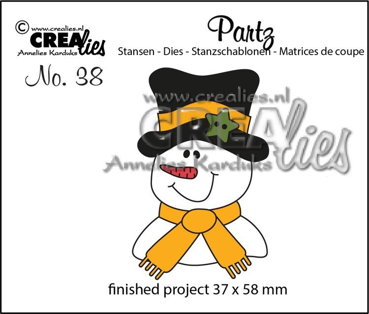 Partz stansen no. 38, Sneeuwpop