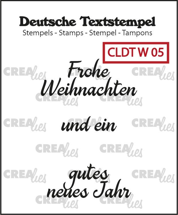 Deutsche Textstempel, Weihnachten no. 05
