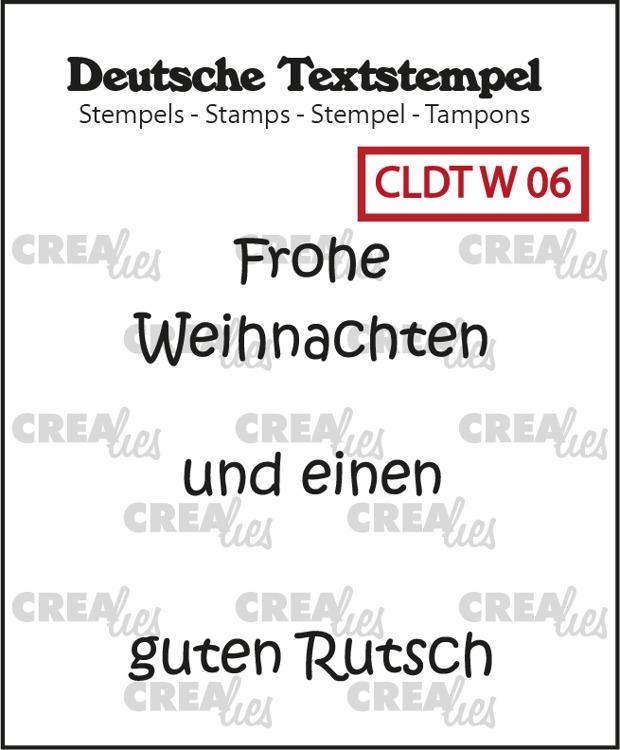 Deutsche Textstempel, Weihnachten no. 06