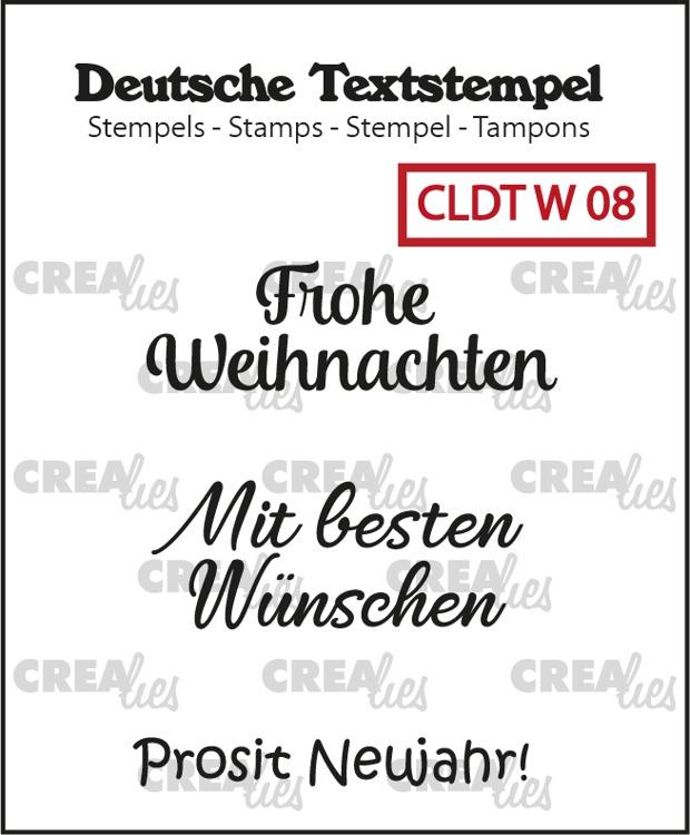 Deutsche Textstempel, Weihnachten no. 08