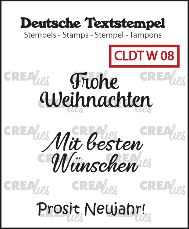 German text stamps, Christmas no.8