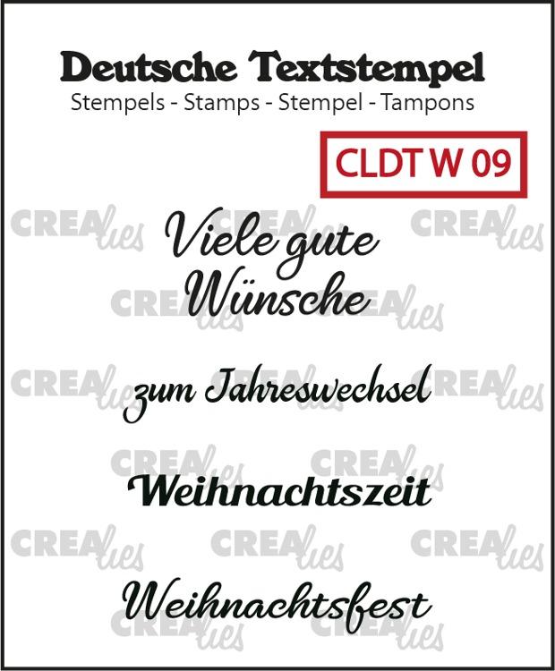 Deutsche Textstempel, Weihnachten no. 09