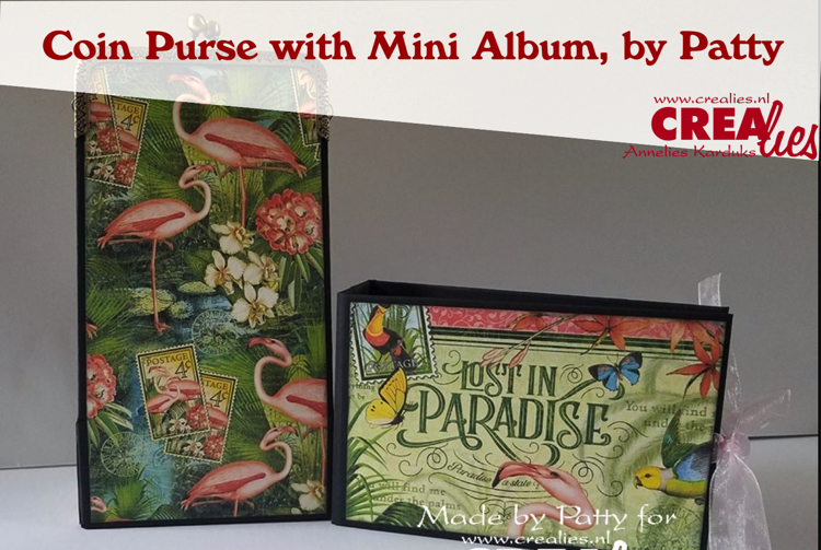 Coin Purse Box with Mini Album, by Patty