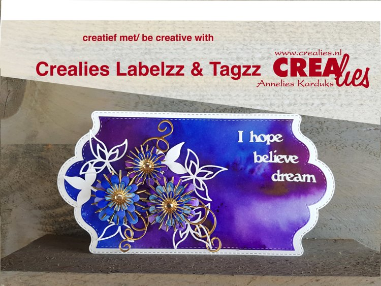 Crealies be creative with Labelzz & Tagzz