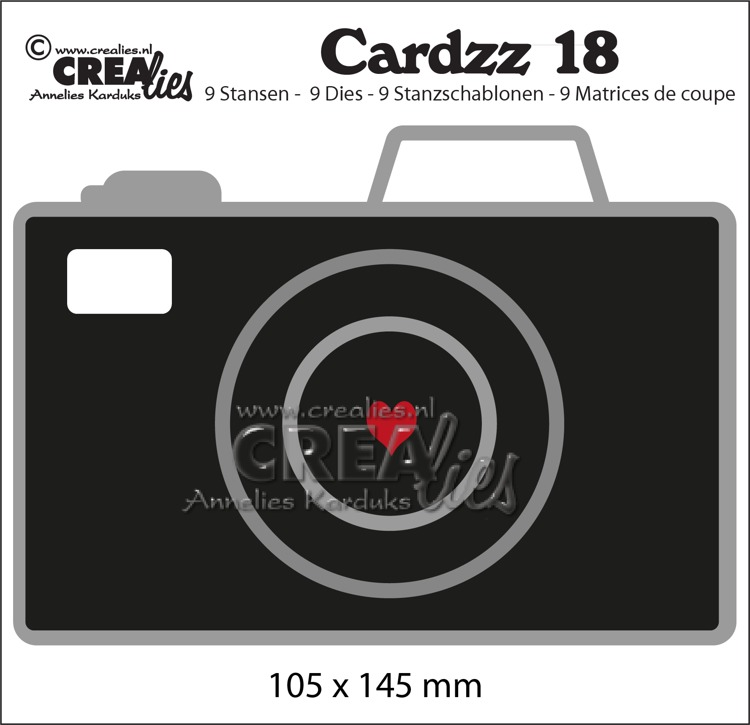 Cardzz stansen no. 18, Camera (kaartformaat)