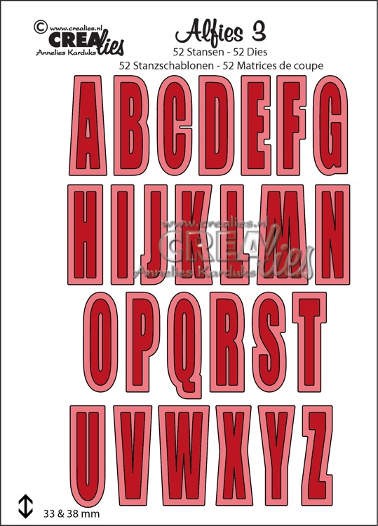 Alfies diesset no. 3, Capital letters and shadows