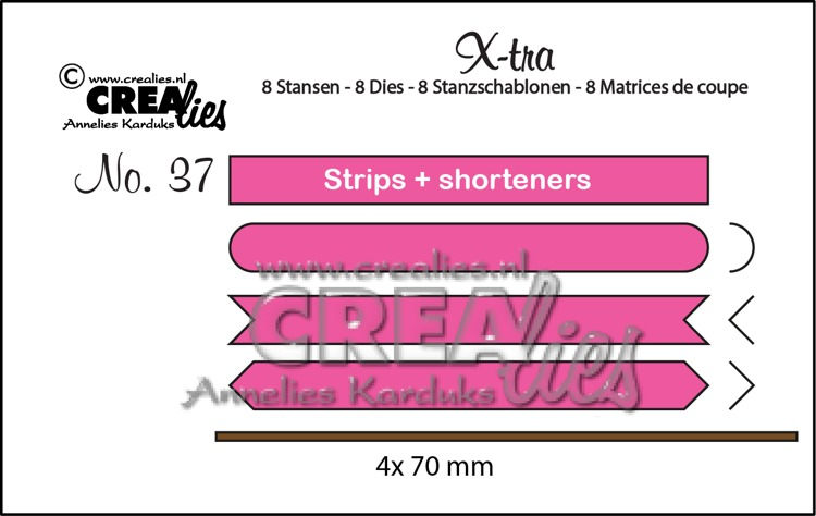 X-tra dies no. 37, Strips & shorteners set A