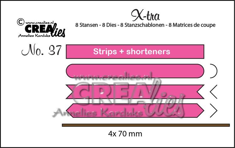 X-tra stansen no. 37, Strips & inkortstrips set A