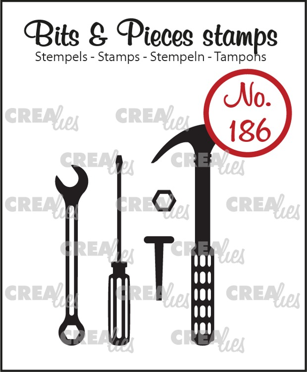 Bits & Pieces stamp no. 186, Tools
