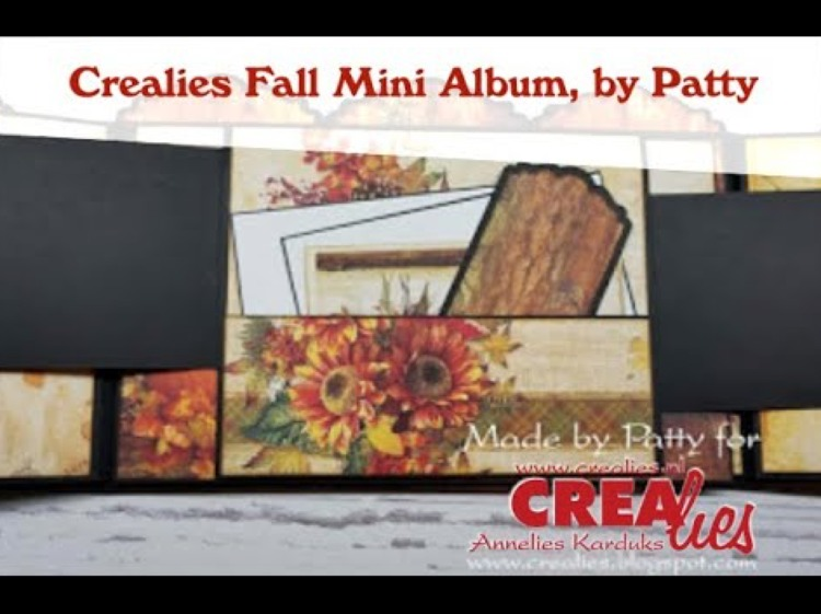Crealies Fall Mini Album