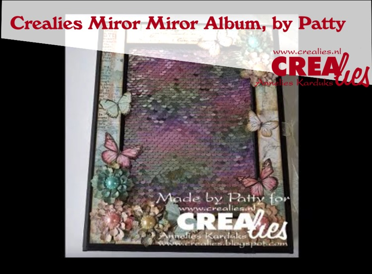 Crealies Mirror Mirror, by Patty
