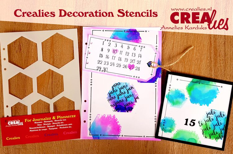 Crealies Decoratie Stencils