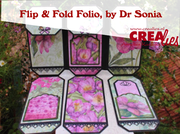 Crealies Flip and Fold Folio by Dr Sonia