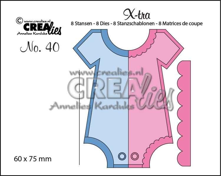 X-tra dies no. 40, Onesie (medium)