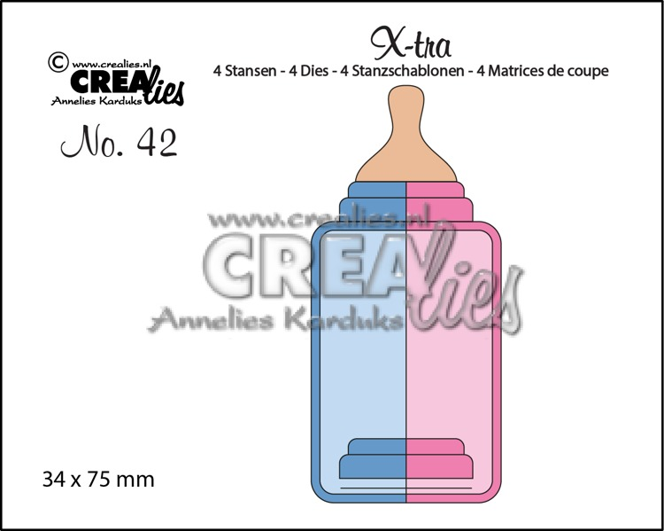 X-tra dies no. 42, Baby bottle (medium)