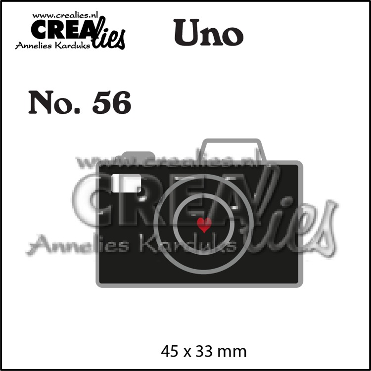 Uno die no. 56, Camera (small)