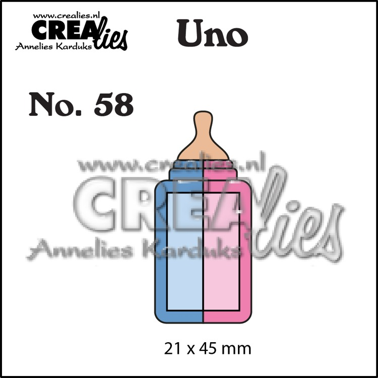 Uno die no. 58, Baby bottle (small)