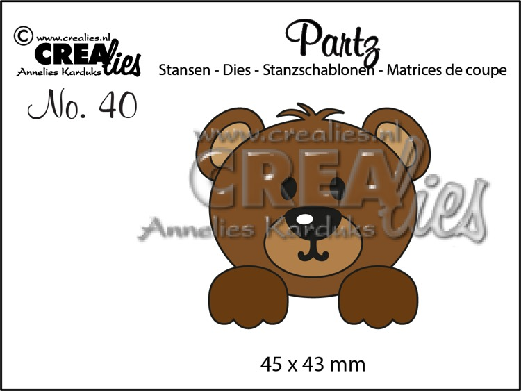 Partzz dies no. 40, Bear