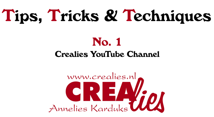 Crealies TTT no. 1: Crealies YouTube Channel