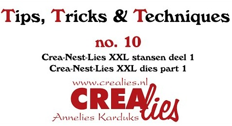 Crealies TTT no. 10:  Crea-Nest-Lies XXL dies part 1