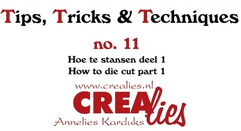 Crealies TTT no. 11: How to die cut part 1