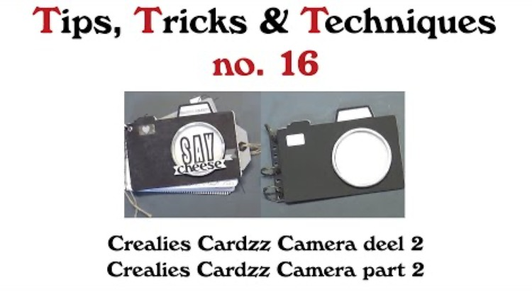 Crealies TTT no. 16: Crealies Cardzz Camera part 2
