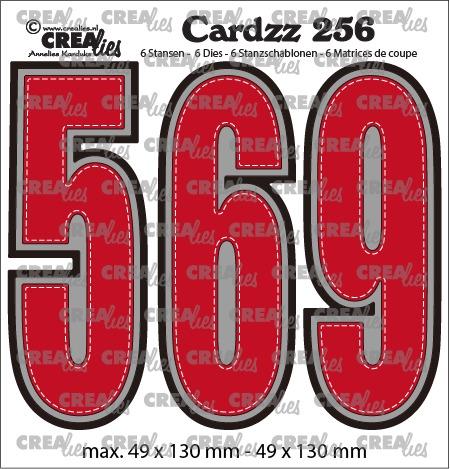 Cardzz stansen no. 256, Cijfers 5,6 en 9