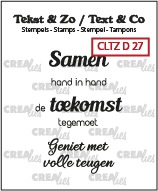 Tekst & Zo Dutch stamps no. 27, Dutch text stamps