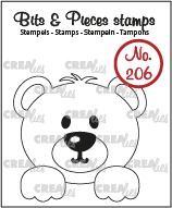 Bits & Pieces stamp no. 206, Bear